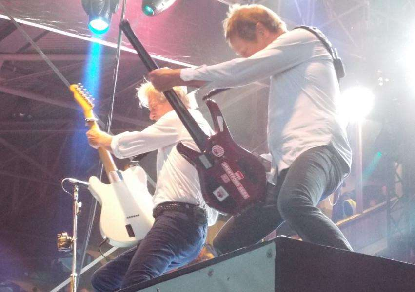 Status Quo at Newmarket: Picture Eve Greygoose