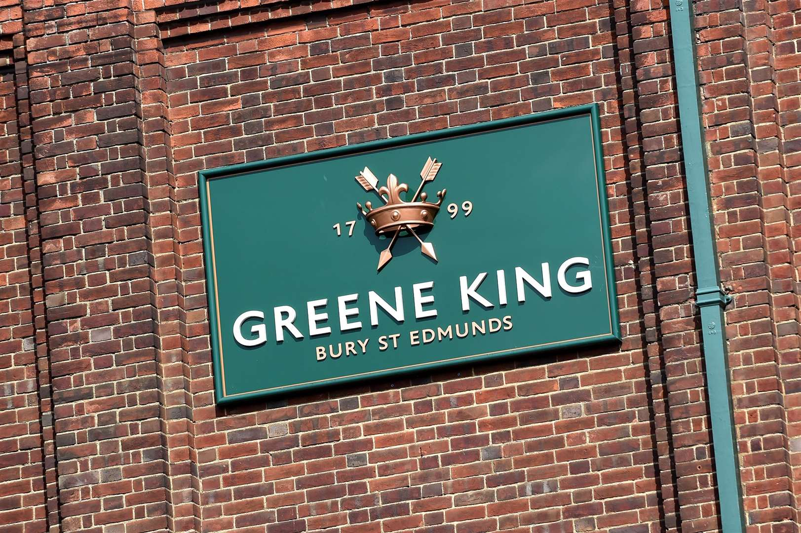 Greene King, in Westgate Street, Bury St Edmunds. Picture by Mecha Morton