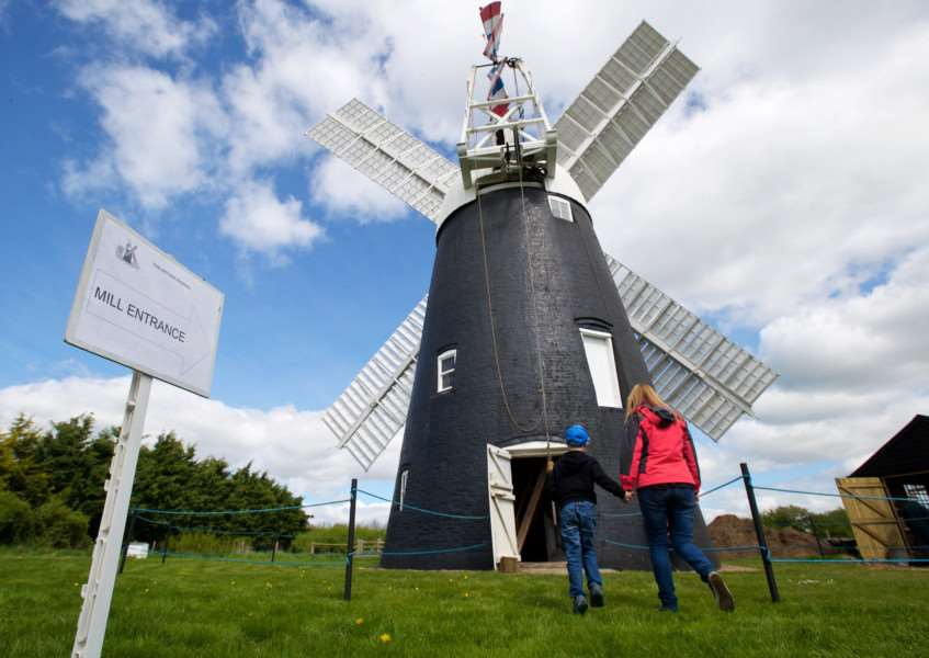 Thelnetham windmill, which is opening to the public again this year Picture: MARK BULLIMORE
