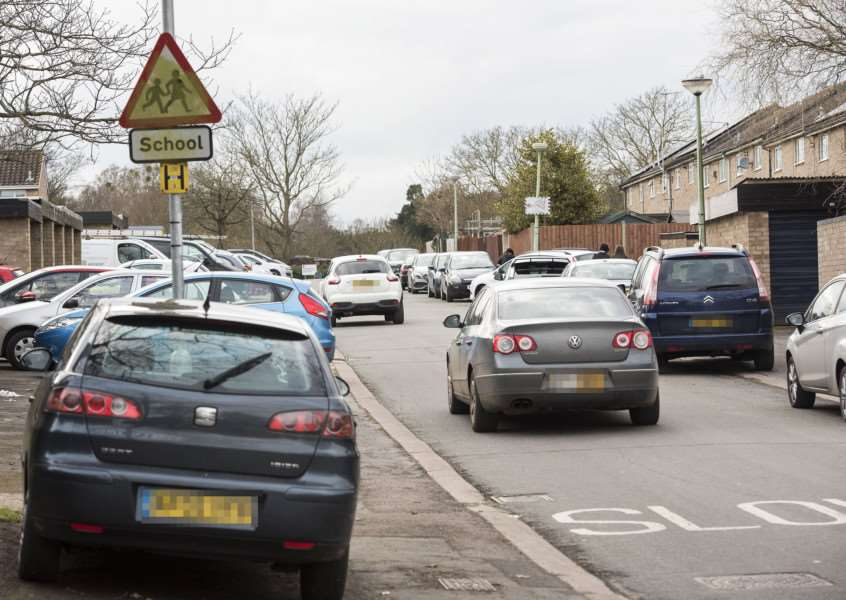 Steward Road residents are being affected by inconsiderate parking. Picture Mark Westley