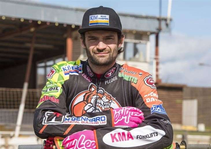 Danny Ayres was set to race for Ipswich Witches in the 2020 season (28430114)