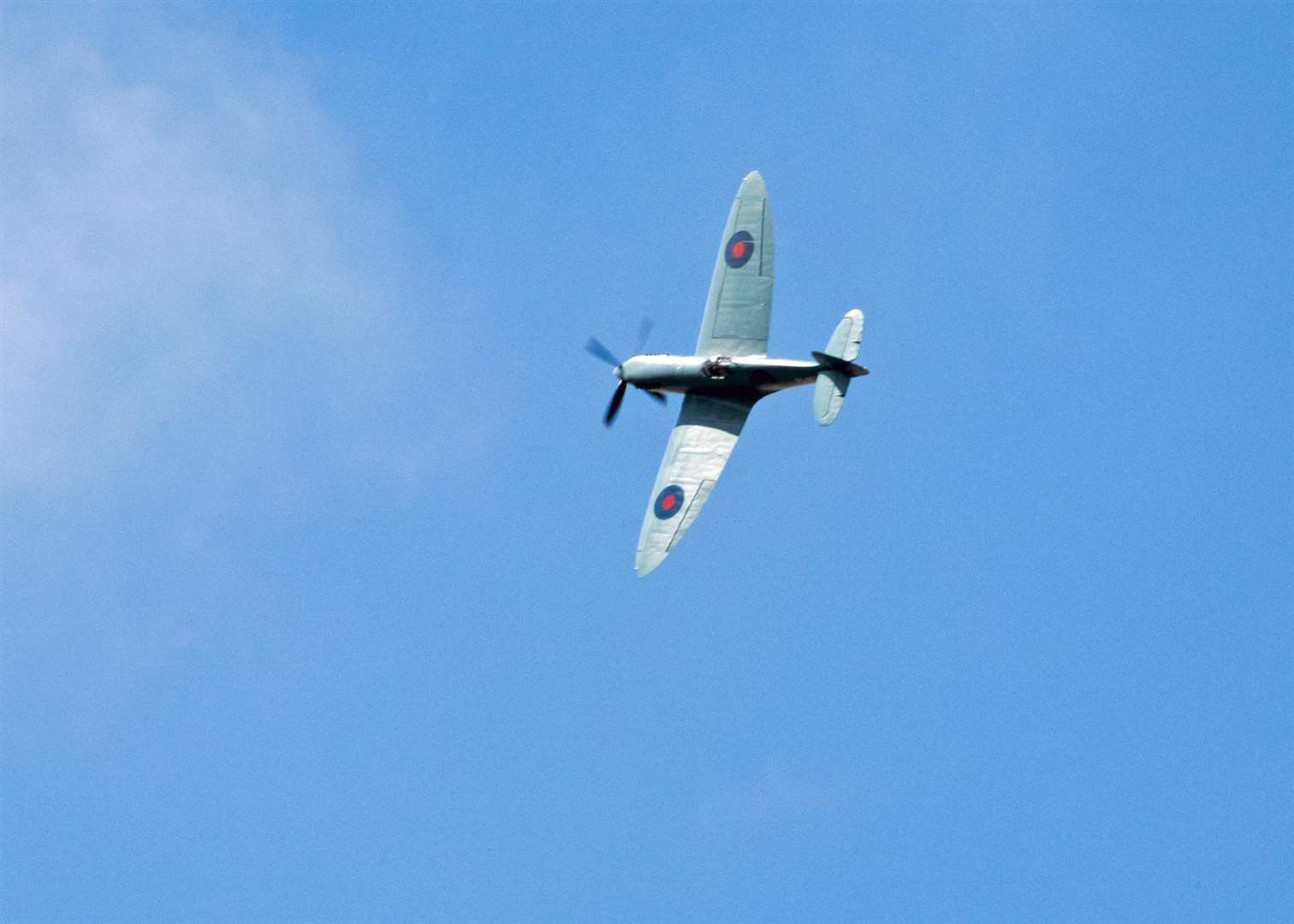 The plane flew from Imperial War Museum, Duxford. Picture: Philip Fuller (3452246)
