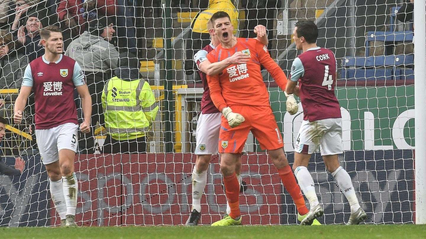 Nick Pope. Picture: Burnley FC (32203787)