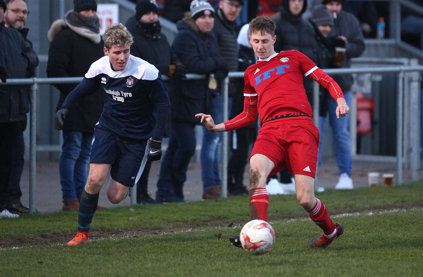 Midfielder Luke Haines has made more than 140 appearances for Haverhill Rovers	Picture: Richard Marsham