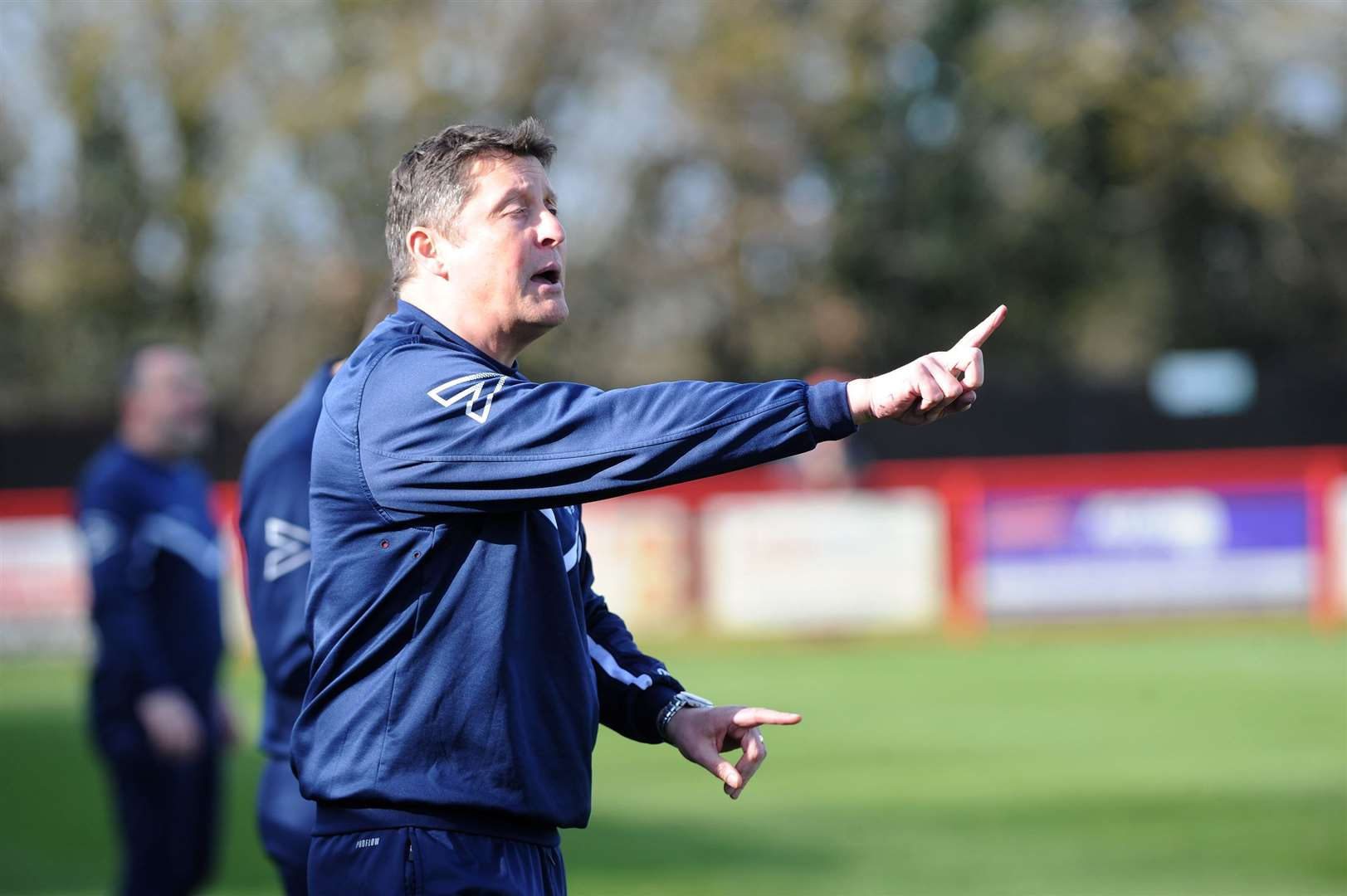 Richard Wilkins is the new assistant at Stowmarket Town. Picture: Mecha Morton