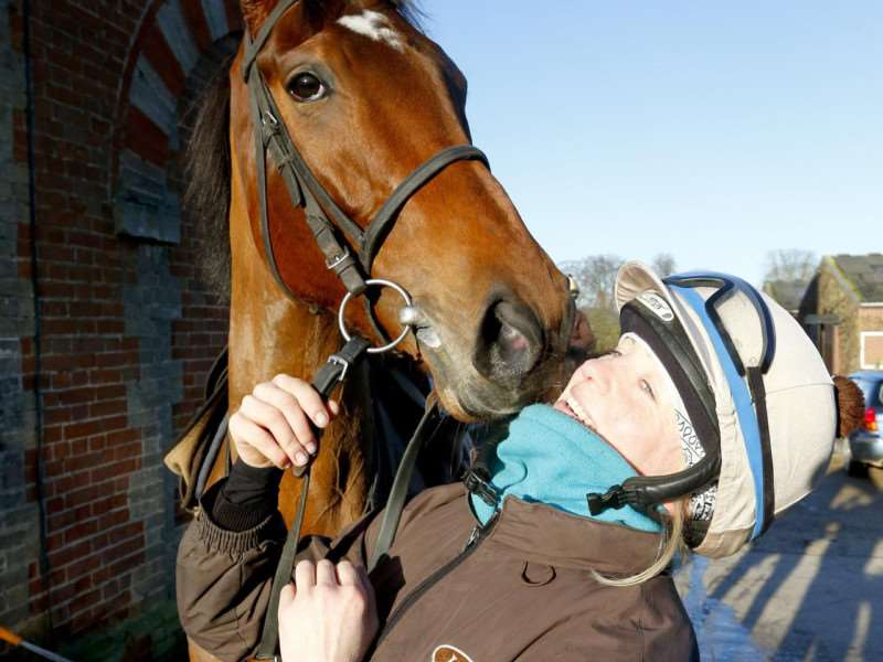 Petra Sebestikova who works for trainer Luca Cumani is a finalist in the rider/groom category.