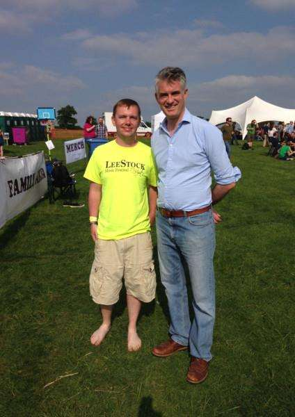 South Suffolk MP James Cartlidge was one of the visitors enjoying LeeStock 2016 ANL-160531-152846001