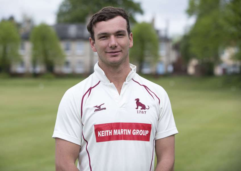 STAR MAN: Sudbury Cricket Club player Dustin Melton Picture: Mark Westley