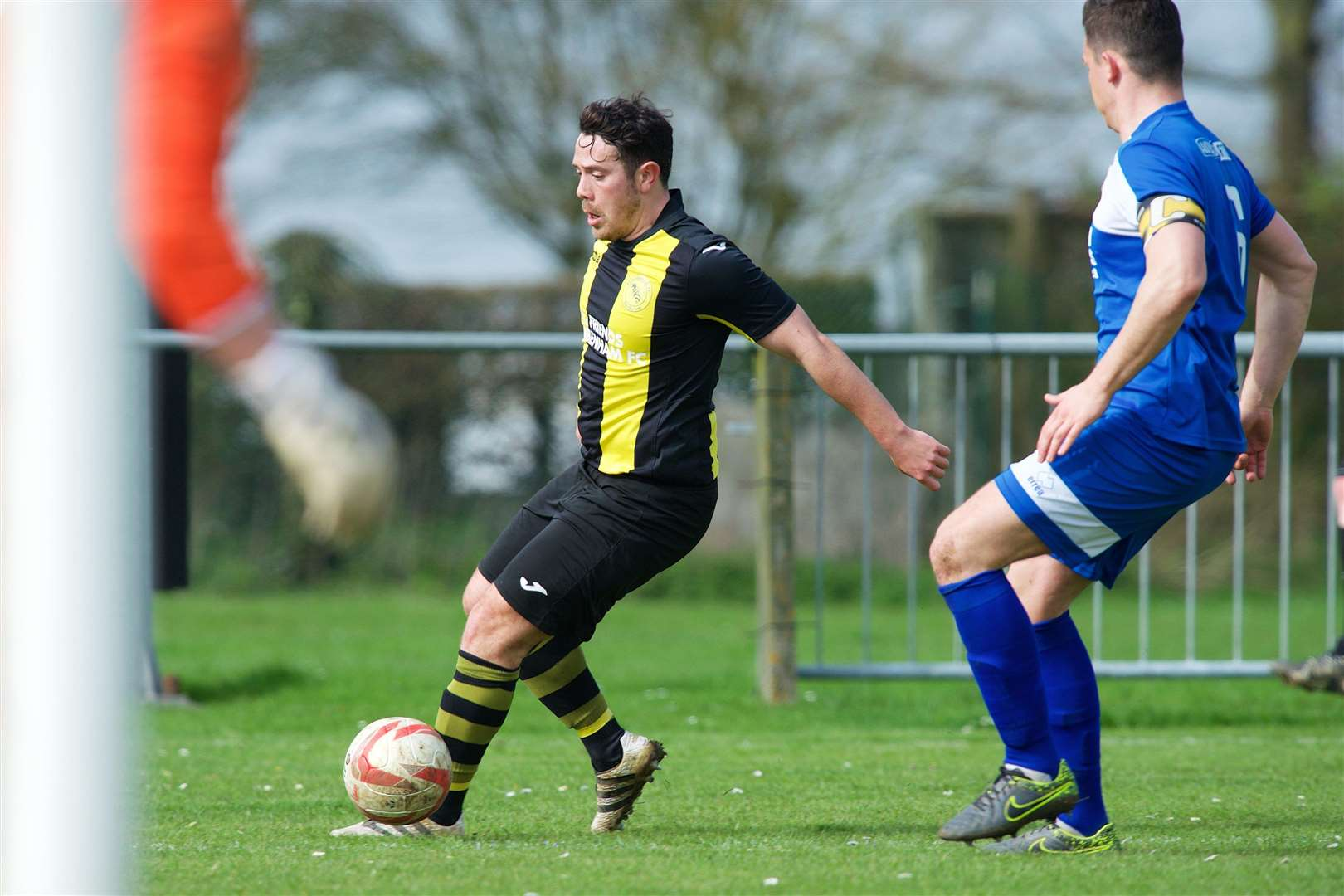 DEBUT GOAL: Jack Severy opened his Brettsiders' account on Friday Picture: Mark Bullimore