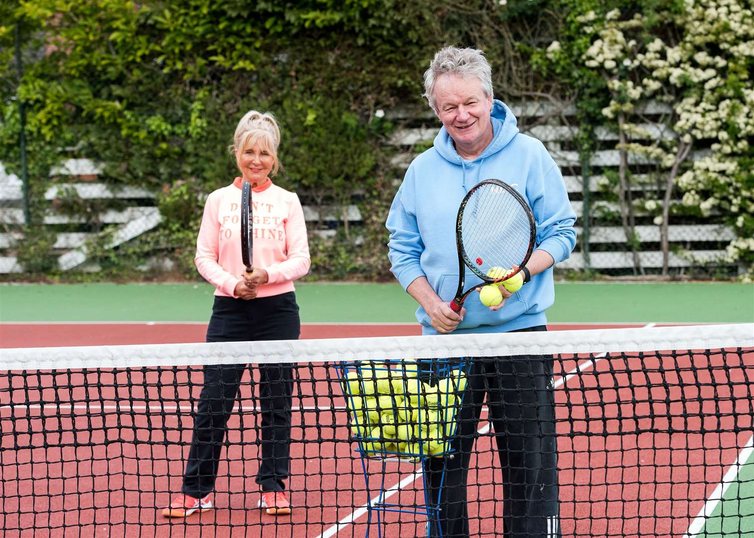 NEWMARKET: Newmarket Tennis Club, Hamilton Rd, Newmarket.Head coach Bruce Tarran will be holding one-to-one coaching sessions. Picture by Mark Westley. (34837874)