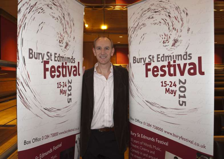 Festival manager Nick Wells