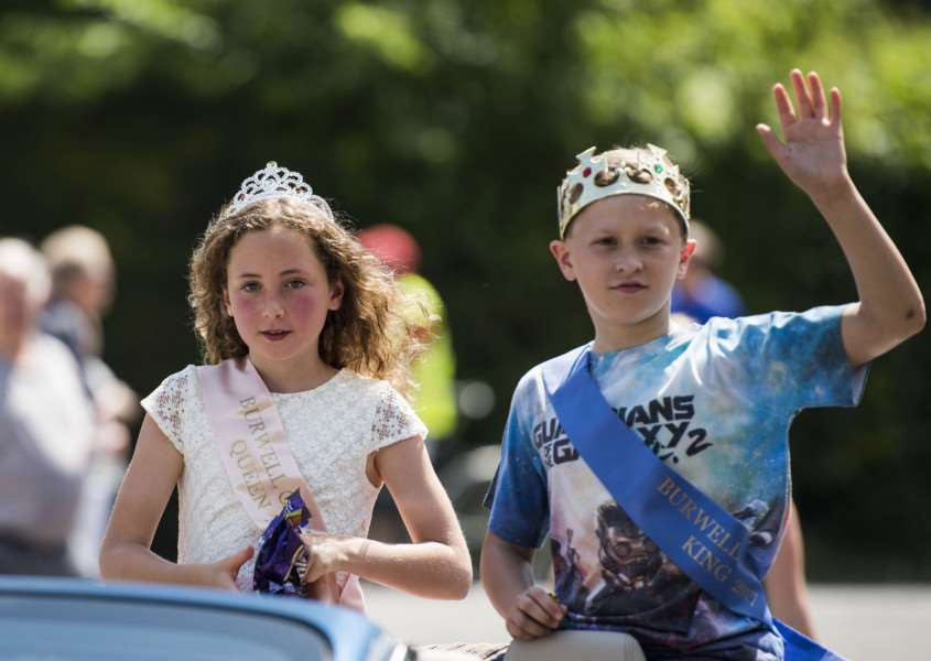 Burwell Carnival'Flossie Talbot and Charley Webster carnival King and Queen'Picture Mark Westley