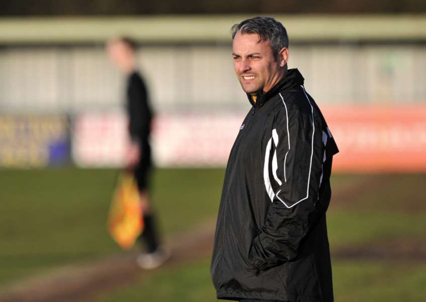 EXCITING TIMES: AFC Sudbury manager Jamie Godbold is relishing the new season