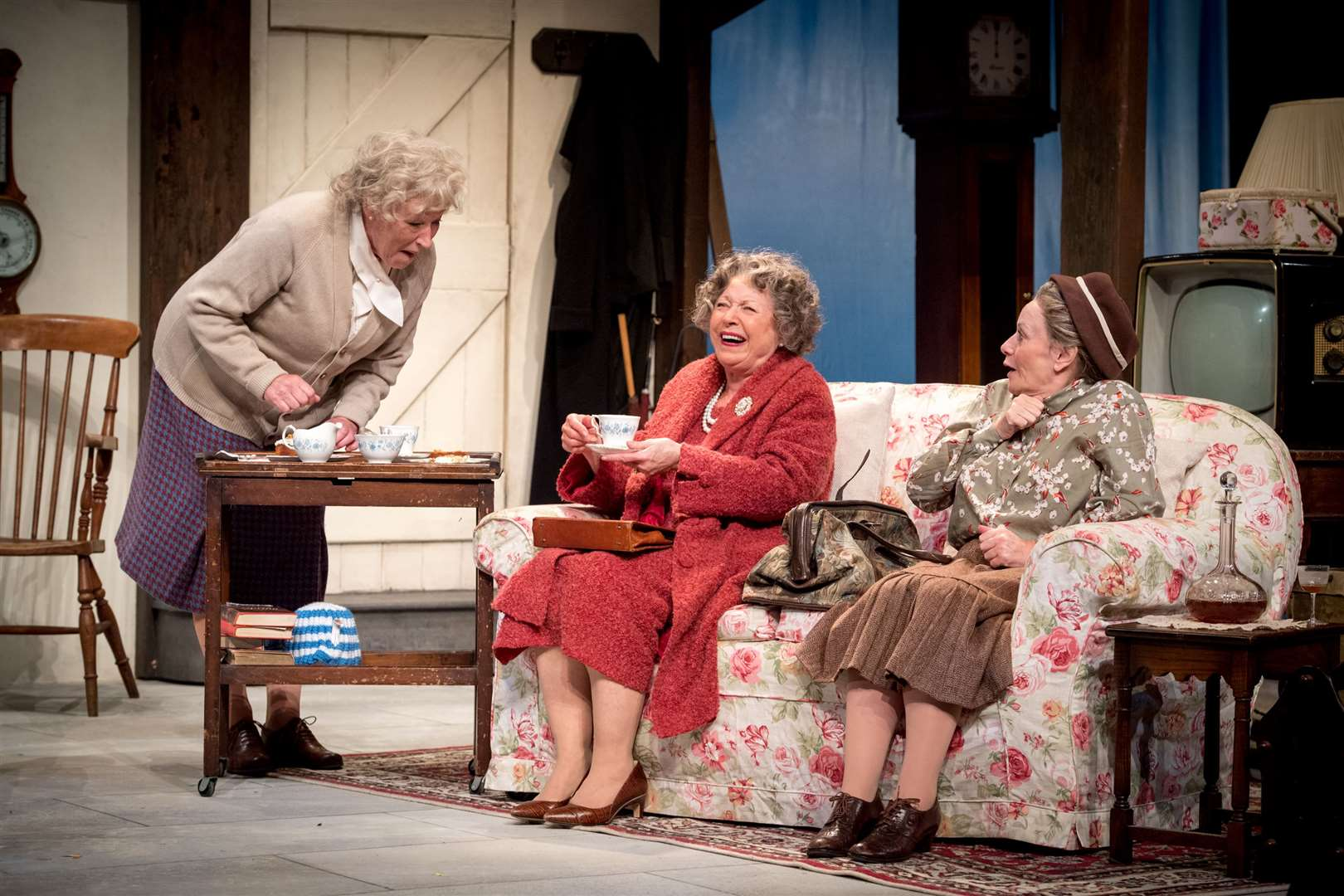 Murder, Margaret and Me - Sarah Parks, Lin Blakley and Gilly Tompkins. Picture: Craig Sugden