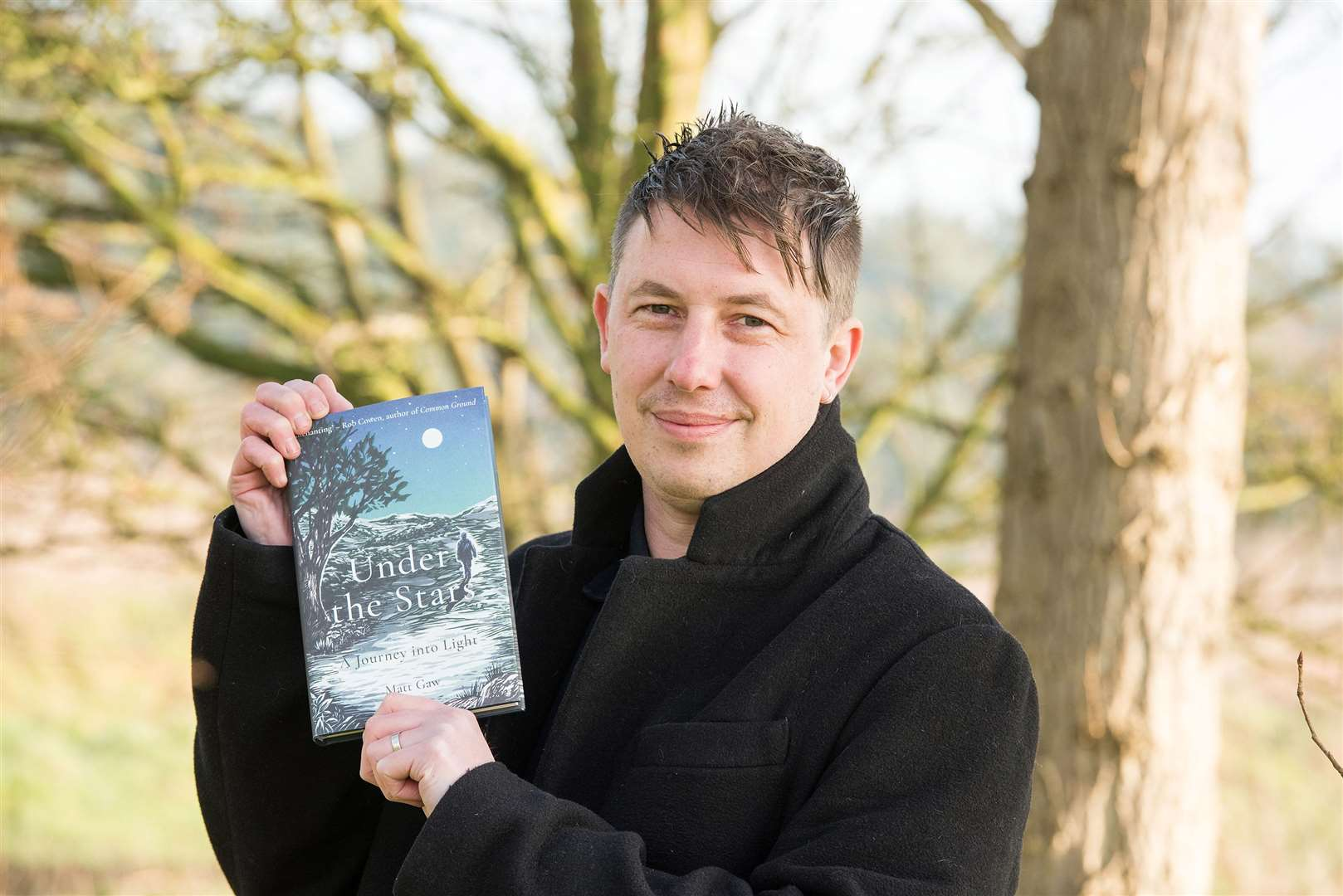 Matt Gaw has published a new book - Under the Stars. Picture by Mark Westley.