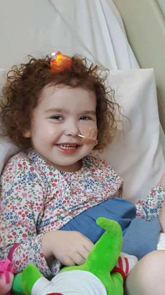 Tinkerbells pre-school is raising money to help send Emily Mather to American for treatment for an incurable brain tumour