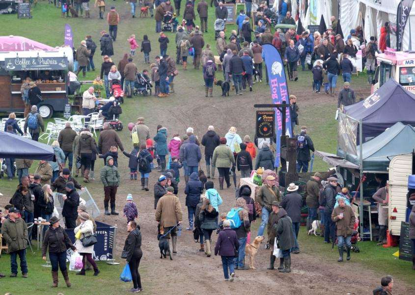 The annual event saw a record crowd on Sunday for the Game and Country Fair- Picture Richard Marsham