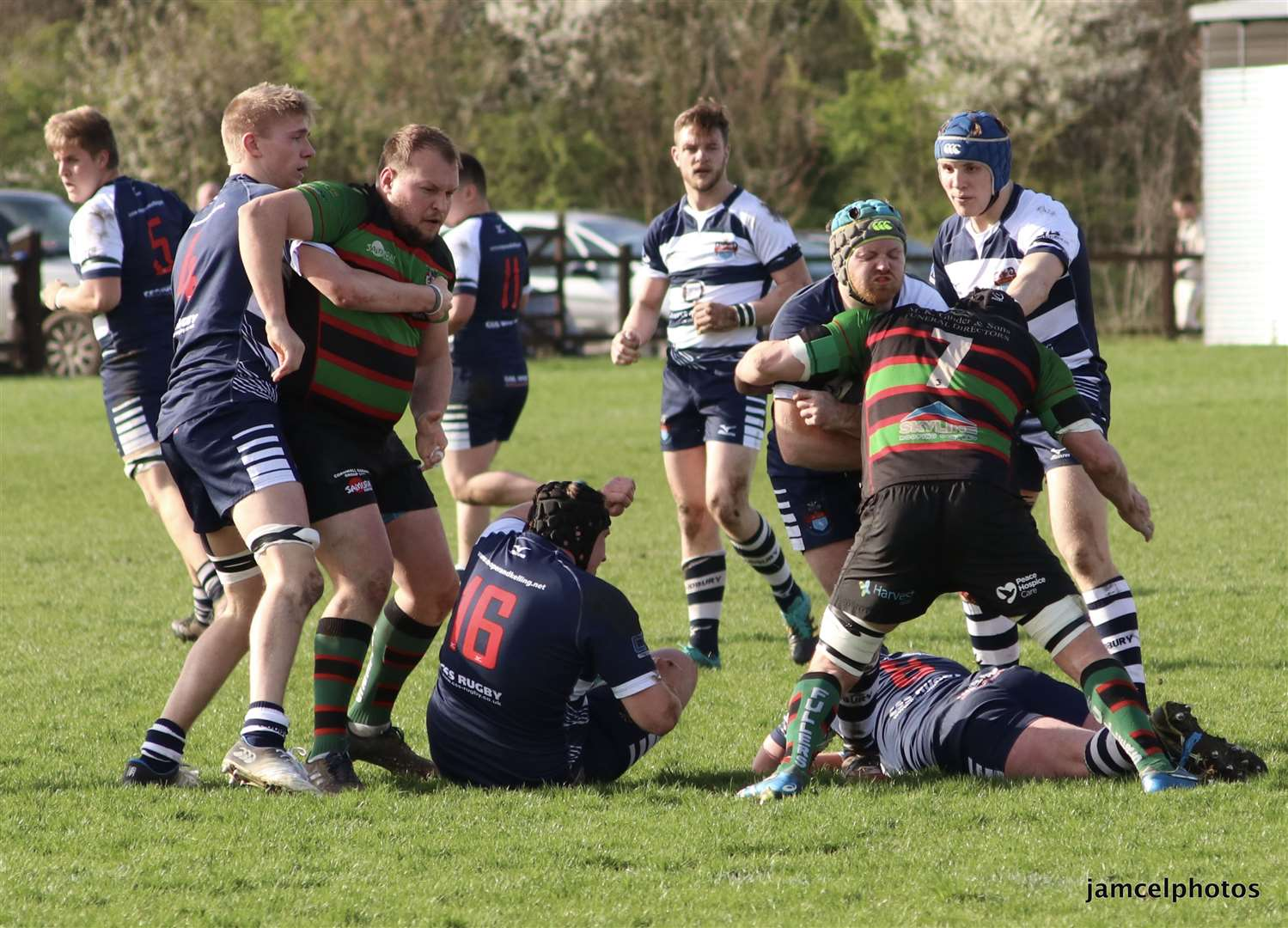 Match action from Sudbury v Fullerians Picture: Jen McElroy (8037233)