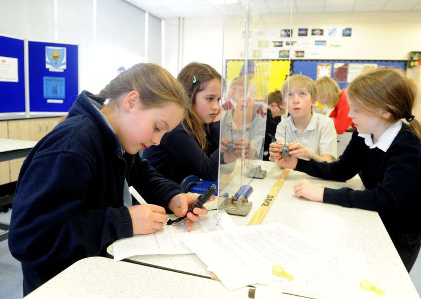 Science week at King Edward VI School''Pictured: All Saints Primary School, Lawshall''''PICTURE: Mecha Morton