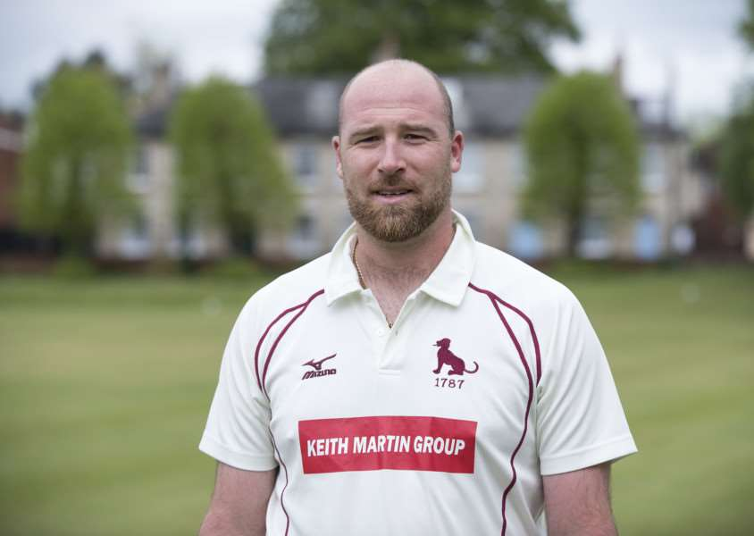 CAPTAIN'S MESSAGE: Tom Huggins believes Suffolk County Cricket Club are getting stronger each week