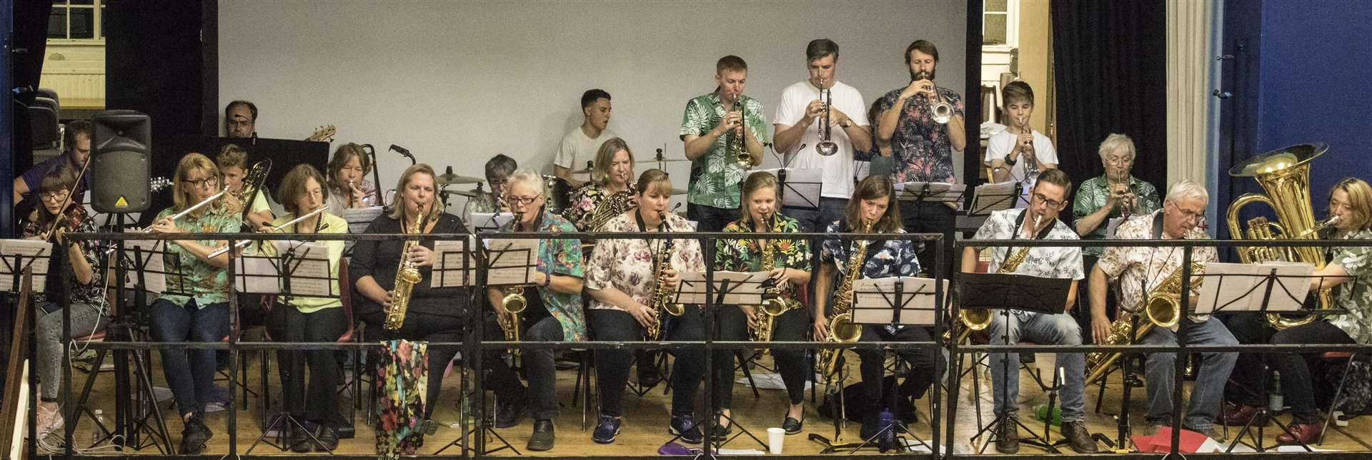 Linton Jazz playing at the Marven Centre, Sawston in October 2018. Contributed picture