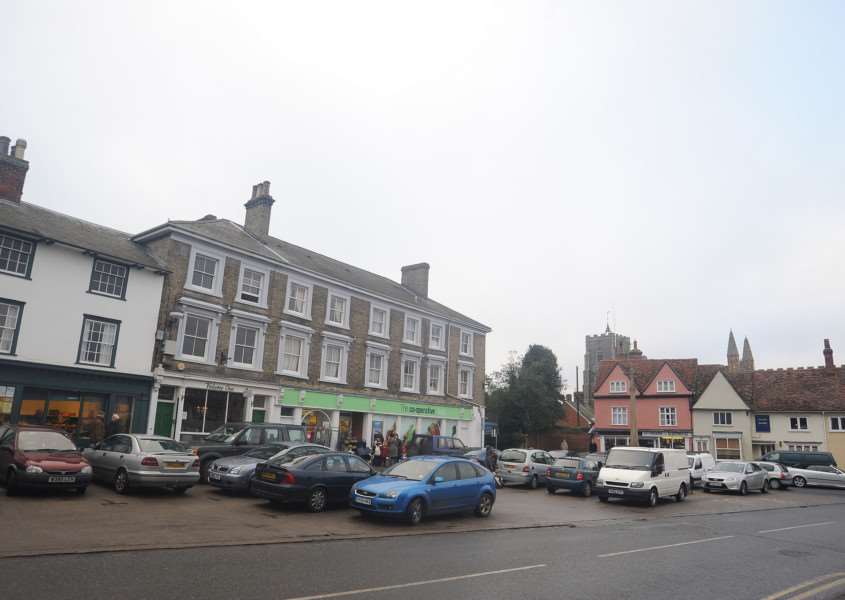 General view of Clare Market Place.