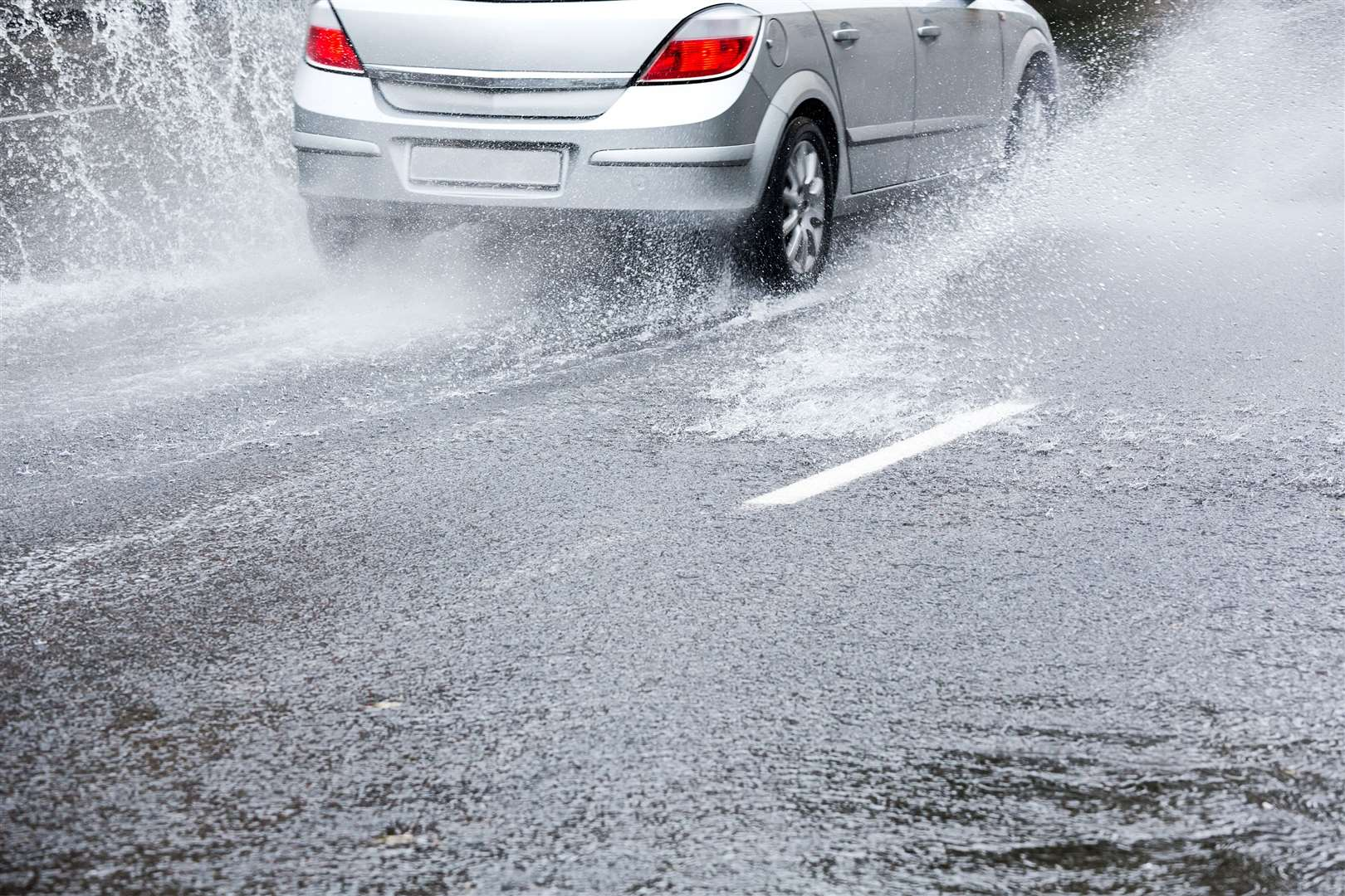 Flooding on the A143 is a danger to road users