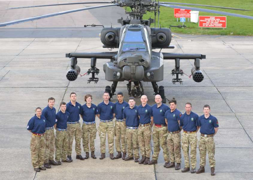 A team of 20 soldiers from 4 Regiment Army Air Corps is trekking the Dhaulagiri Circuit in Nepal to help with medical research''Photo: Cpl Andy Reddy RLC ANL-160426-153451001