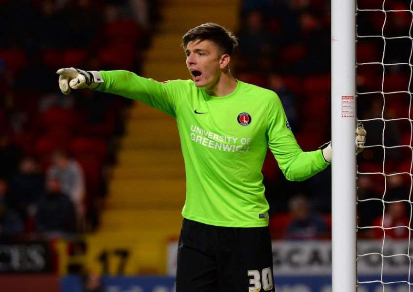 TURNING PRO: Nick Pope joined Charlton in 2011
