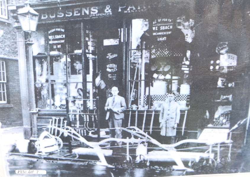 How Bussens and Parkin looked in the early 1930s