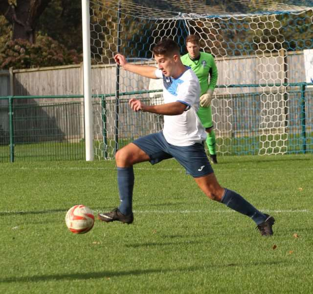 DEBUT: Will Evans had a tough start to his career at Borough, playing in the 7-2 defeat