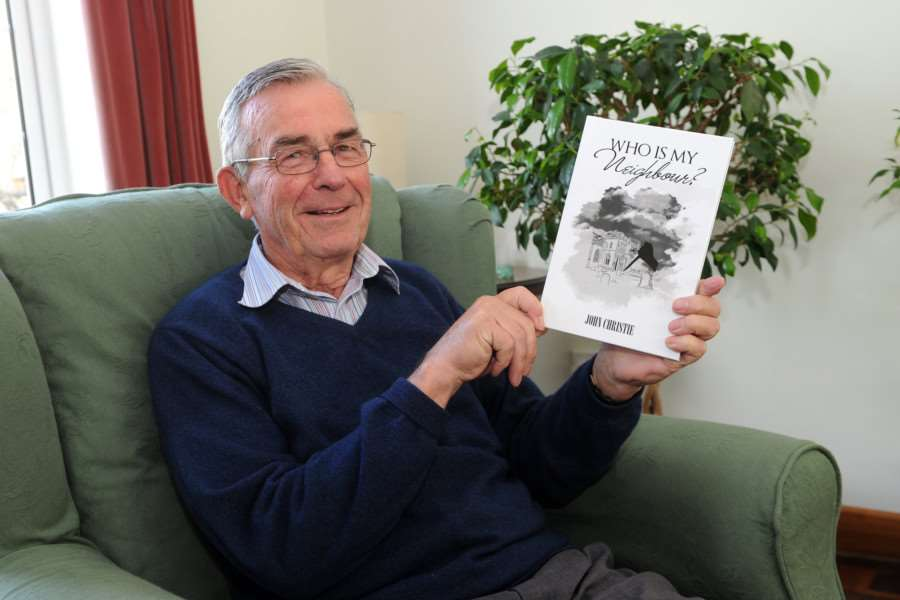 John Christie has written a crime novel 'Who Is My Neighbour''''PICTURE: Mecha Morton