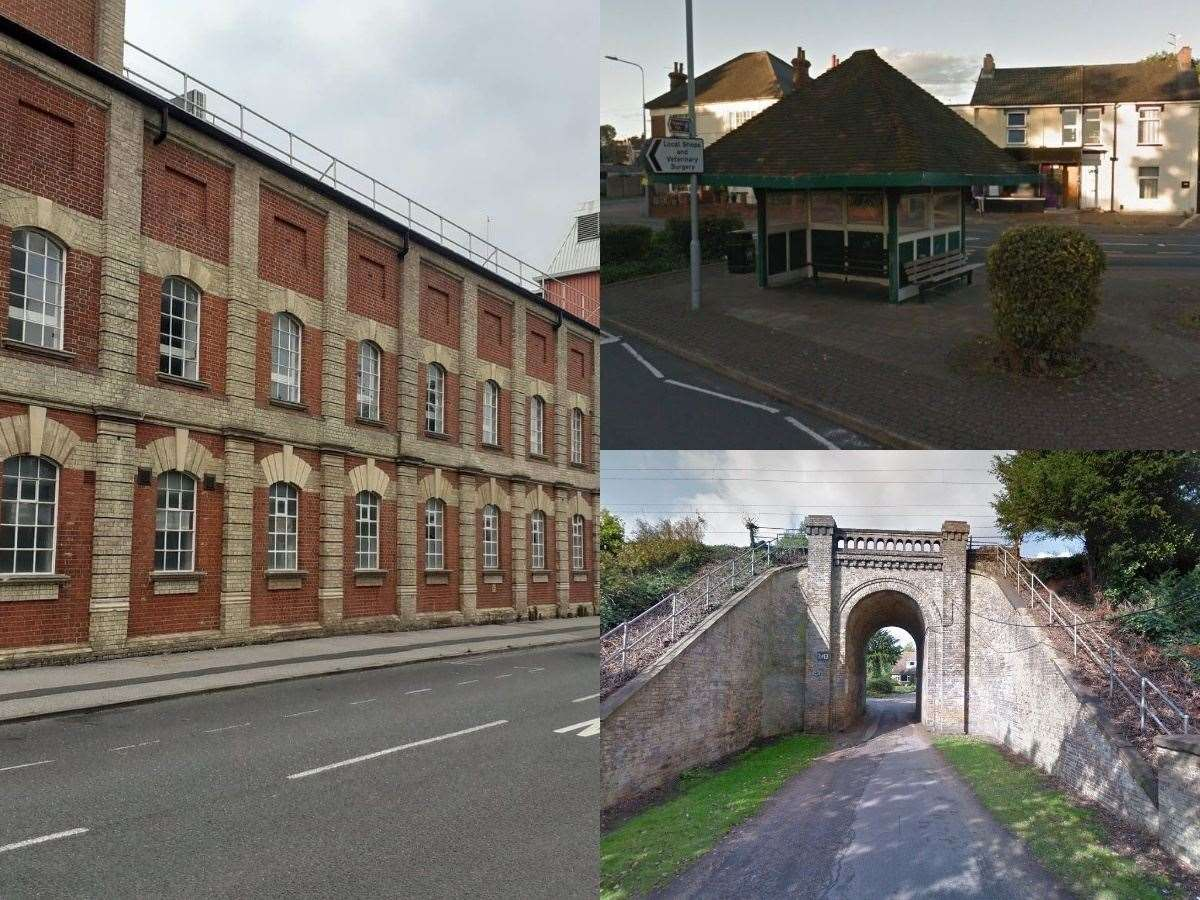 These are some of the Ipswich structures which are set to be added to the list of local buildings of special interest. Pictures: Jason Noble/Google Maps (41853360)