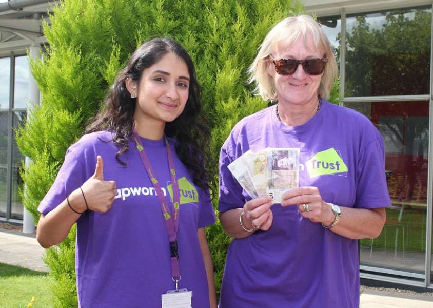 How much can you turn �50 into for The Papworth Trust