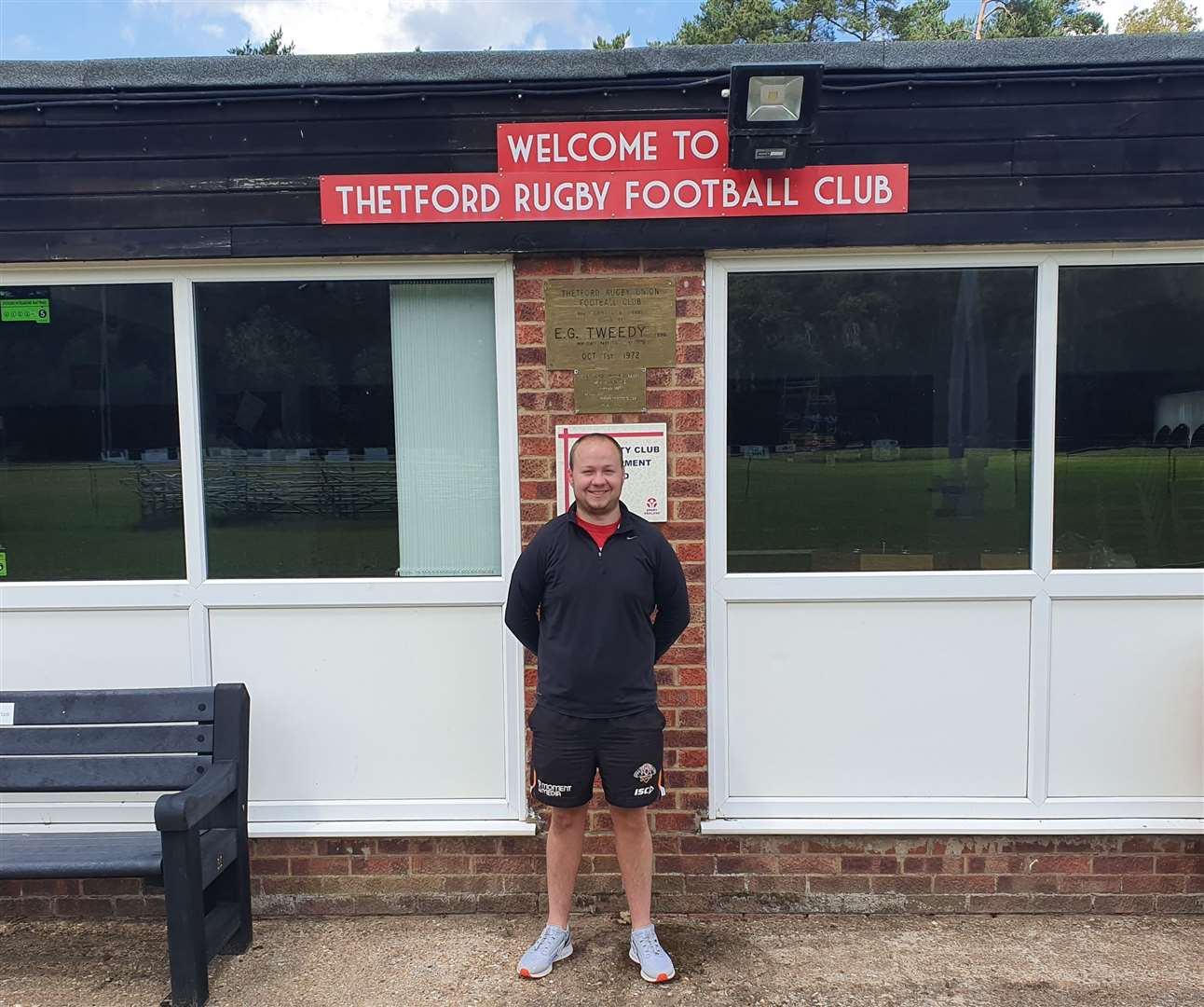 New Thetford Rugby Club head coach Aaron Beaumont (36695774)