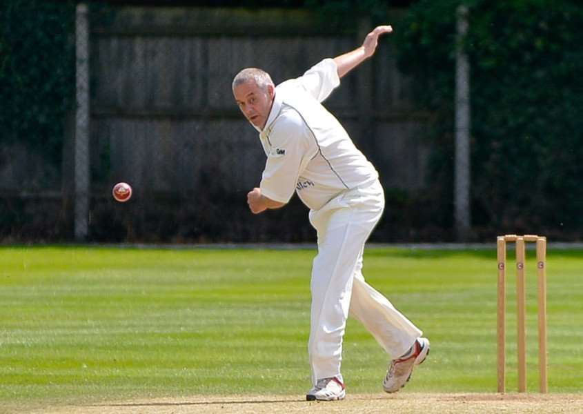 GOOD FORM: Dave Routledge (3-60) was among the wickets in Long Melford II's home victory against West Mersea