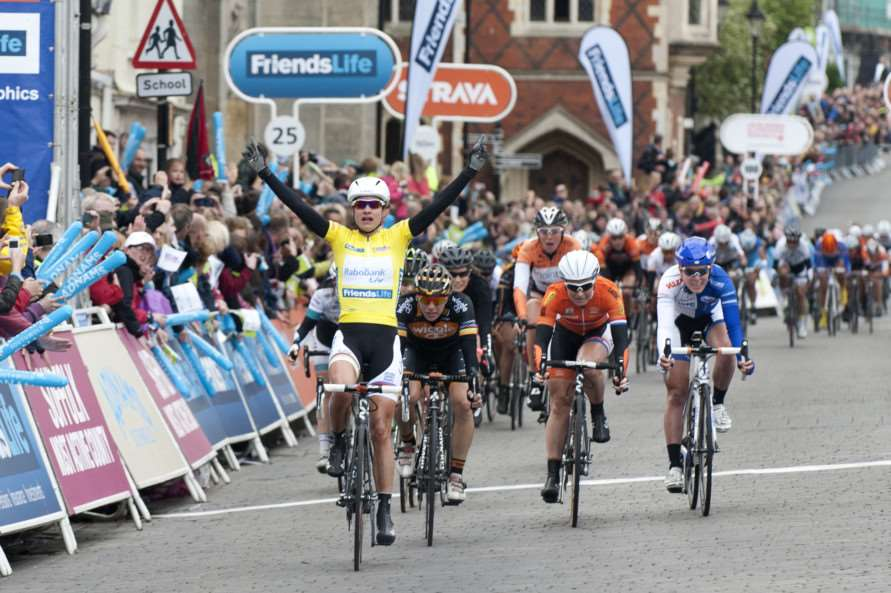 CYCLING - Women's Tour finishing in Bury St Edmunds ANL-141105-232416009