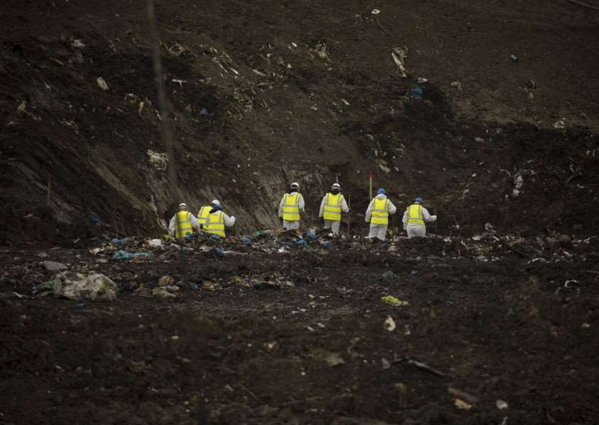 Nicol Urquhart described the police search at Milton landfill'as 'thorough' .'Picture Mark Westley
