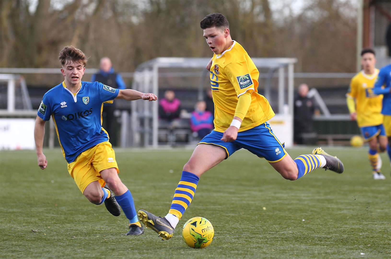 AFC Sudbury v Canvey Island - Ross Crane..Pic - Richard Marsham. (35913856)