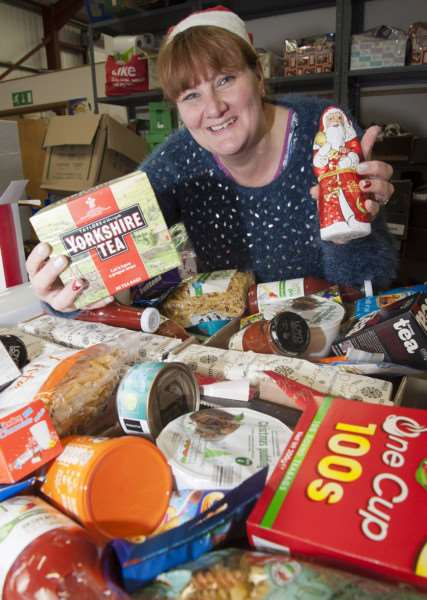 The Gatehouse community charity's annual activities include Christmas hampers and dinners for those in need ANL-141217-195726009