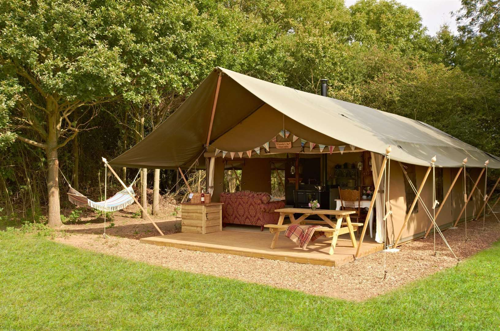 The Luxury Lodge Tents have everything you need for a perfect stay (42368917)