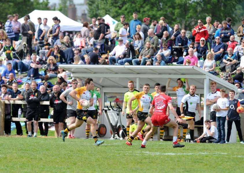POPULAR DAY: Rugby 7s will be back at Bury St Edmunds this year