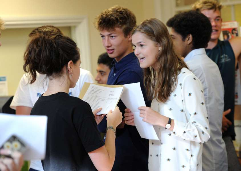 A-Level Results - King Edwards ANL-160818-105704009
