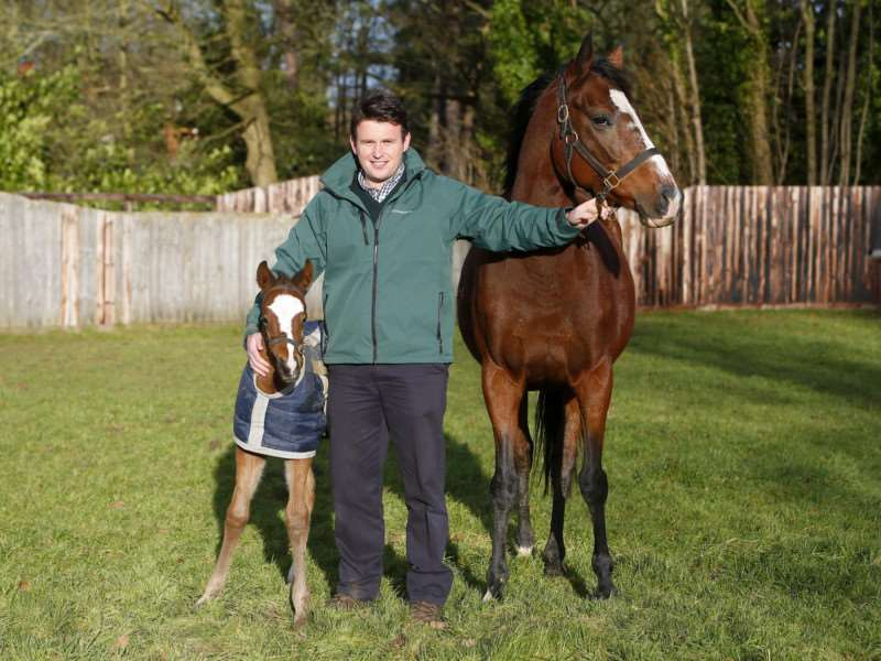 Ed Murrell of Banstead Manor Stud is a finalist in the leadership award.