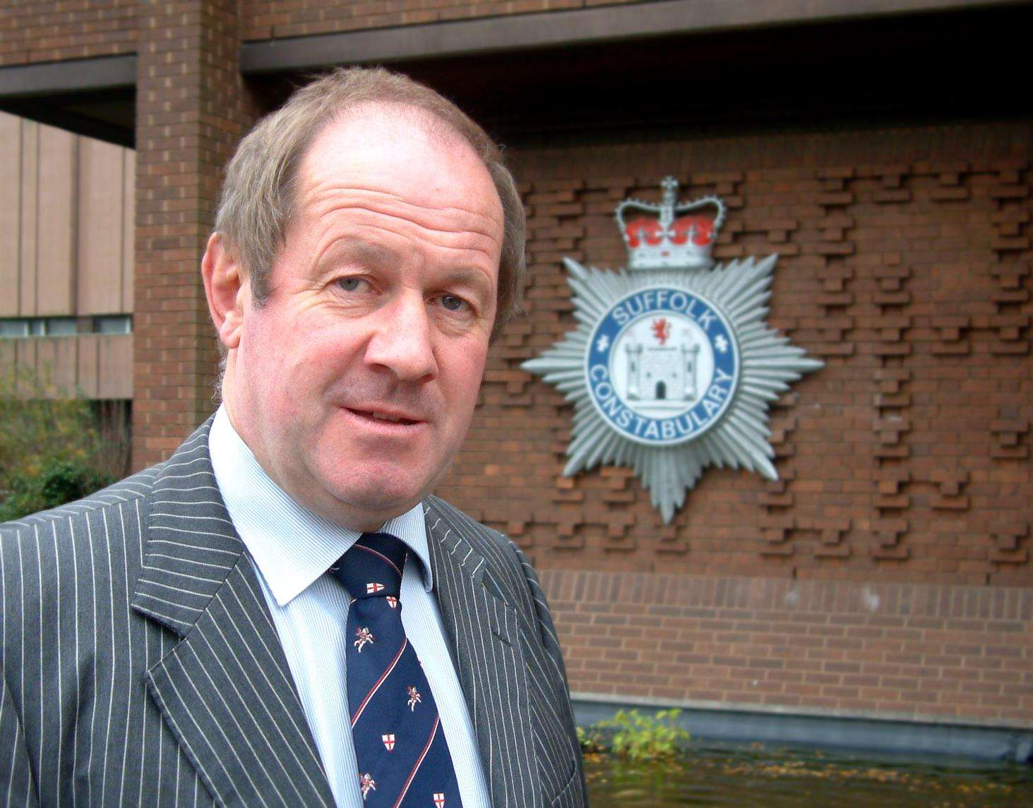 Tim Passmore who is the Police Commissioner for Suffolk. (6332321)