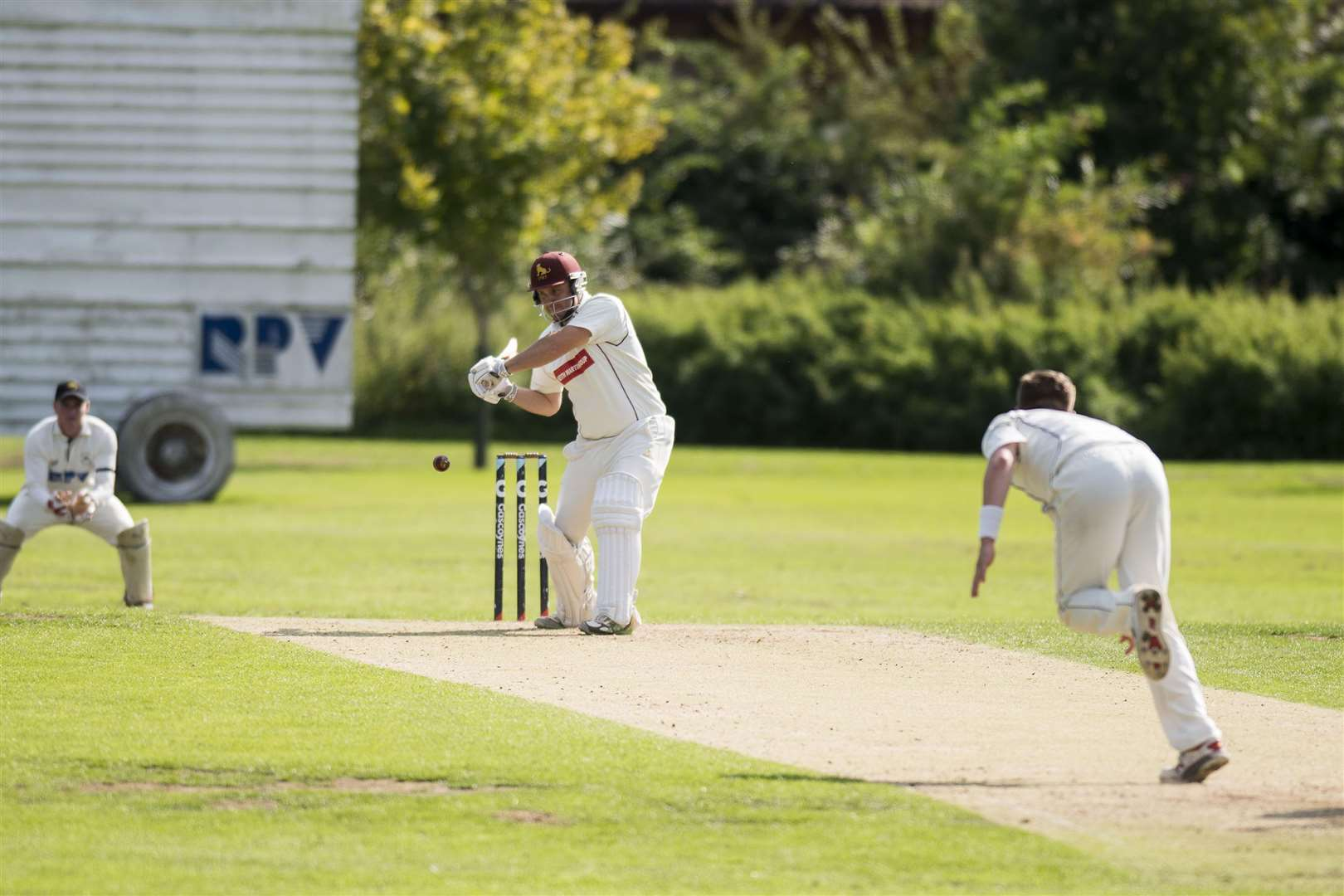 Cricket - Mildenhall v Sudbury Darren Batch Sudbury Picture Mark Westley. (3921295)
