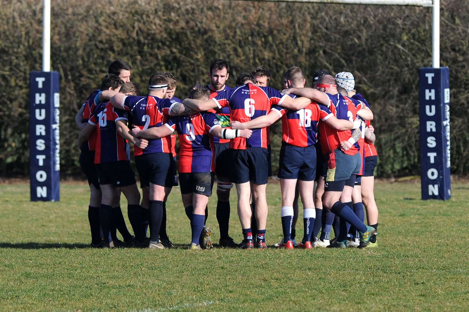 RUGBY - Thurston v Clacton in Suffolk Chadacre Cup semi-final..Pictured: ...PICTURE: Mecha Morton... (7754643)