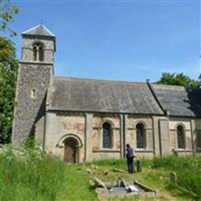 The Church of St Margaret has had restoration issues for decades.	Photo provided by Historic England.