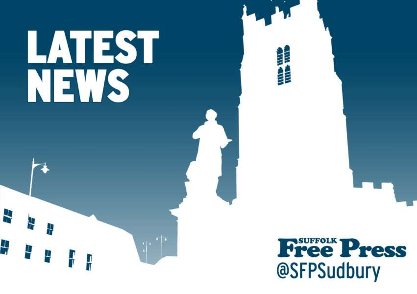 Latest news from the Suffolk Free Press, suffolkfreepress.co.uk, @sfpsudbury on Twitter