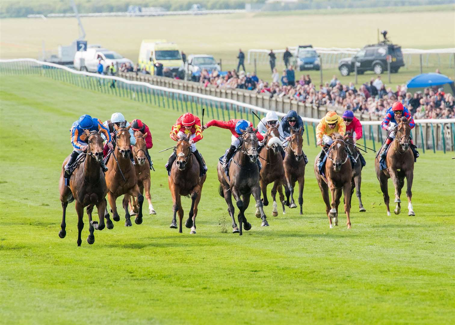 1000 Guineas Day At Newmarket Rowley Mile Qipco 1000 Guineas Stakes (Group 1) (British Champions Series) (Fillies)..6. Hermosa..Winning jockey: Wayne Lordan.Winning trainer: A P O'Brien Picture by Mark Westley. (9719006)